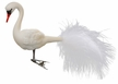 Elegant Swan Ornament by Inge Glas