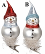 Cool Snowman Ornament by Inge Glas - $21 Each