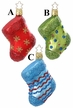 Filled With Love Stocking Ornament by Inge Glas - $15 Each