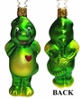 Green Dragon with Heart Ornament by Inge Glas in Neustadt by Coburg