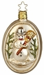 Vintage Snowman Ornament by Inge Glas in Neustadt by Coburg