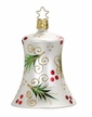 Evergreen Bell, Matte White Ornament by Inge Glas in Neustadt by Coburg