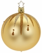 """4"""" Fancy Inkagold Ball Ornament by Inge Glas in Neustadt by Coburg"""