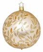 "4"" Champagne Matte Delights Ornament by Inge Glas in Neustadt by Coburg"