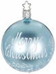 Merry Christmas, Mint Shiny Ornament by Inge Glas in Neustadt by Coburg