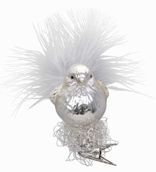 Winter Birdie Ornament by Inge Glas in Neustadt by Coburg