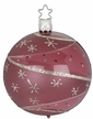 "3 1/4"" Winter Sky, Magnolia, Shiny Transparent Ornament by Inge Glas in Neustadt by Coburg"