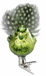 Light Green Birdie Ornament by Inge Glas in Neustadt by Coburg