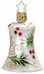 Evergreen Bell, White Matte Ornament by Inge Glas in Neustadt by Coburg