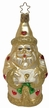 Hearty Pearly Santa Ornament by Inge Glas in Neustadt by Coburg