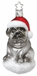 Pug Pooch Ornament by Inge Glas in Neustadt by Coburg
