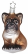 Bulldog Pup Ornament by Inge Glas in Neustadt by Coburg
