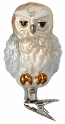 Arctic Owl Ornament by Inge Glas in Neustadt by Coburg