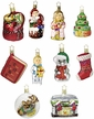 'Twas the Night Before Christmas, Ten Piece Ornament Set by Inge Glas in Neustadt by Coburg