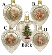 Vintage Holiday Ornament by Inge Glas in Neustadt by Coburg