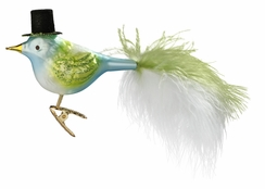 Top Hat Feathers Ornament by Inge Glas in Neustadt by Coburg