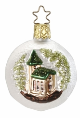 Christmas Chapel Ornament by Inge Glas in Neustadt by Coburg
