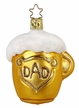 Dad's Beer Mug Ornament by Inge Glas in Neustadt by Coburg