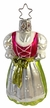 Bavarian Dirndl Ornament by Inge Glas in Neustadt by Coburg