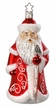 Classic Santa Frost Ornament by Inge Glas in Neustadt by Coburg