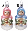 Happy Bottoms Ornament by Inge Glas in Neustadt by Coburg - $31.50 Each
