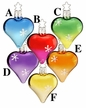 Cool Hearts Ornament by Inge Glas in Neustadt by Coburg - $10.50 Each