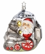Choo Choo Christmas Santa Ornament by Inge Glas in Neustadt by Coburg
