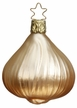 White Onion Bulb Ornament by Inge Glas in Neustadt by Coburg