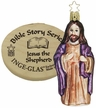 Jesus the Shepherd, Boxed Ornament, Bible Story Series by Inge Glas