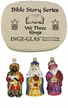 We Three Kings, 3 Piece Boxed Ornament Set, Bible Story Series by Inge Glas