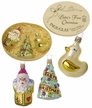 Baby's First Christmas, 3 Piece Boxed Ornament Set by Inge Glas