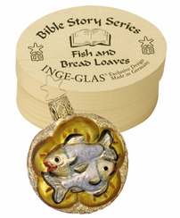 Loaves fishes boxed ornament bible story series by for Loaves and fishes bible story
