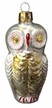 White Owl Ornament by Inge Glas
