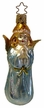 Blue Blessing Angel Ornament by Inge Glas