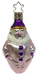 Jester with Purple Hat Ornament by Inge Glas