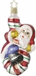 Candy Climbing Santa Ornament by Inge Glas