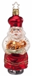 Chef S. Claus Ornament by Inge Glas