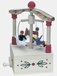 "Children on Carousel Music Box by Wolfgang Werner Volkskunstwerkstatt in Seiffen plays  ""The Carousel Waltz"""