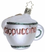 Christmas Cappuccino Cup Ornament by Inge Glas