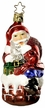 Christmas Gift Santa Life Touch Ornament by Inge Glas