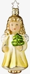 Christmas in My Heart Angel - Life Touch Ornament by Inge Glas