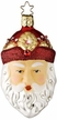 Christmas Jewel Santa - Life Touch Ornament encrusted with Swarovski Crystals by Inge Glas
