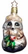 Christmas Raccoon Ornament by Inge Glas