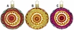 Christmas Reflections Ornament by Inge Glas - $20.50 each