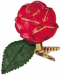 Christmas Rose Ornament by Inge Glas