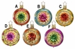Christmas Sparklers Reflector Ornament by Inge Glas - $19.50 Each