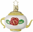 Christmas Tea Teapot Ornament by Inge Glas