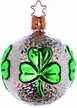 Circle of Clover Ornament by Inge Glas