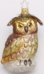 Classic Woodlands Owl Ornament by Inge Glas