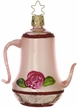 Coffee Time Coffee Pot Ornament by Inge Glas